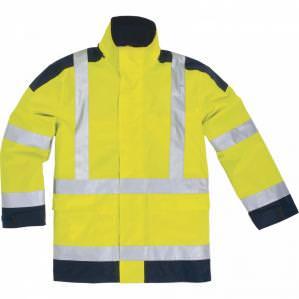 Куртка сигнальная Delta Plus EASYVIEW, цв. желтый