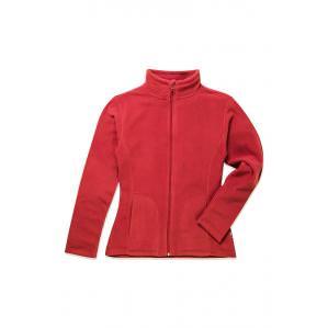 Кофта флісова жіноча STEDMAN ST5100,кол.червоний