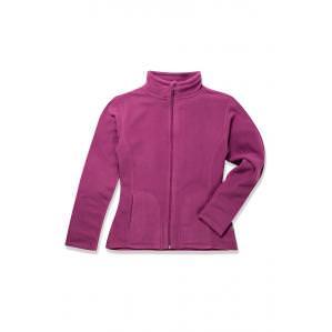 Флисовая кофта женская STEDMAN ST5100 цв.розовый