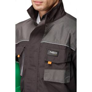 Куртка рабочая NEO TOOLS 81-210 серая - 2