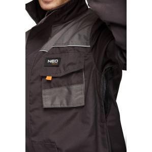 Куртка рабочая NEO TOOLS 81-210 серая - 1