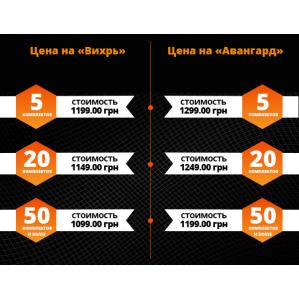 Полукомбинезон зимний SVAN АВАНГАРД серо-черный - 1